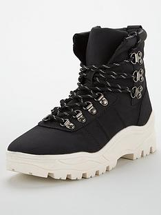 v-by-very-nile-white-sole-hiker-sports-hybrid-boots-blackwhite