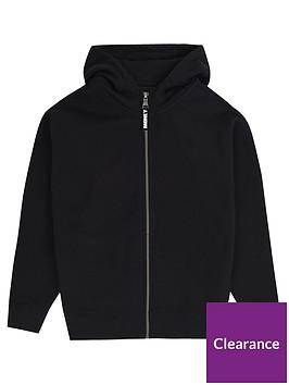 money-boys-shadow-block-ape-zip-through-hoodie-black