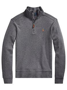 ralph-lauren-boys-half-zip-knitted-jumper-grey