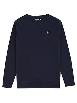 Lyle & Scott Lyle & Scott Lyle & Scott Boys Classic Crew Neck Sweat Picture