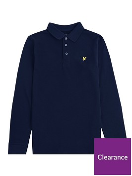 lyle-scott-boys-classic-long-sleeve-polo-shirt-navy