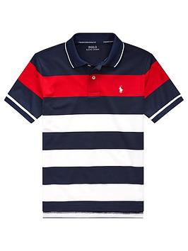 ralph-lauren-boys-short-sleeve-stripe-polo-shirt-redmulti