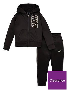 nike-girls-therma-full-zip-iridescent-logo-hoodie-and-jogger-set-black