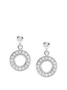 fossil-fossil-vintage-stardust-sterling-silver-circle-ladies-stud-earrings