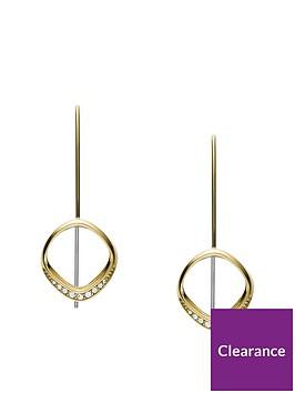 fossil-fossil-gold-geometric-ladies-drop-earrings