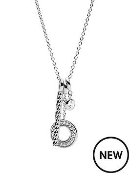 fossil-fossil-sterling-silver-triple-pendant-ladies-necklace