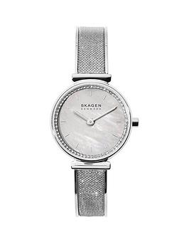 skagen-skagen-annalie-mother-of-pearl-25mm-dial-stainless-steel-glitz-mesh-strap-ladies-watch