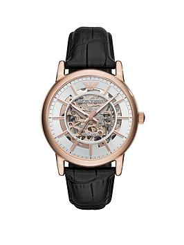 Emporio Armani Emporio Armani Emporio Armani Silver And Rose Gold Detail  ... Picture