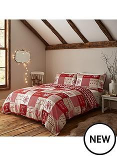 catherine-lansfield-let-it-snow-christmas-duvet-cover-set