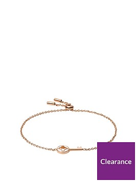 fossil-fossil-signature-rose-gold-and-mother-of-pearl-key-ladies-toggle-bracelet