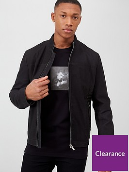 hugo-lordi-leather-jacket-black