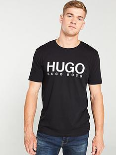 hugo-dolive-logo-t-shirt-black