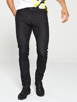 HUGO Hugo 734 Skinny Fit Jeans - Black Picture