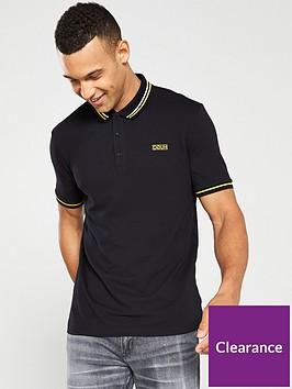 hugo-daruso194-tipped-polo-shirt-black