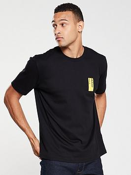 hugo-deoul-back-print-t-shirt-black