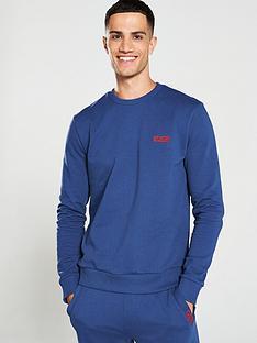 hugo-drick194-crew-neck-sweatshirt-airforce-blue