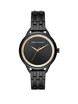 armani-exchange-armani-exchange-black-sunray-and-mother-of-pearl-outer-dial-black-stainless-steel-bracelet-ladies-watch