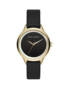 armani-exchange-armani-exchange-black-sunray-with-gold-detail-and-mother-of-pearl-outer-dial-black-leather-strap-ladies-watch