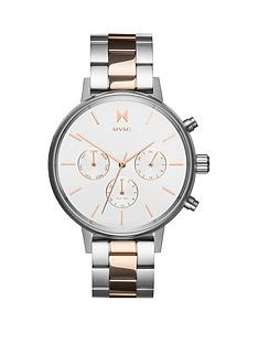 mvmt-mvmt-nova-white-and-rose-gold-detail-chronograph-dial-two-tone-stainless-steel-bracelet-ladies-watch