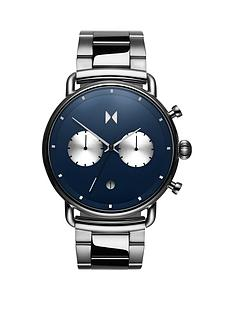 mvmt-mvmt-blacktop-blue-sunray-and-silver-detail-chronograph-dial-stainless-steel-bracelet-mens-watch
