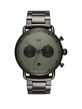MVMT Mvmt Mvmt Blacktop Green And Black Detail Chronograph Dial Green Ip  ... Picture