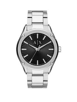 Armani Exchange Armani Exchange Armani Exchange Black Sunray And Silver  ... Picture