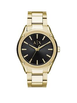 Armani Exchange Armani Exchange Armani Exchange Black Sunray And Gold  ... Picture