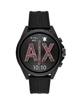 Armani Exchange Armani Exchange Armani Exchange Black Full Display Dial  ... Picture