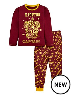 harry-potter-girls-gold-glitter-pyjamas-multi