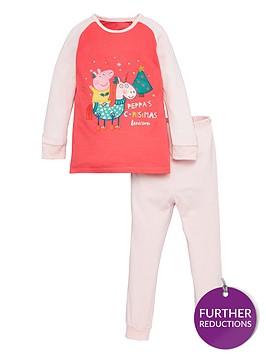 peppa-pig-toddler-girls-christmas-unicorn-pyjamas-pink