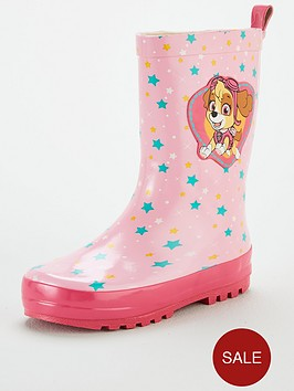 paw-patrol-toddlernbspgirls-paw-patrol-wellie-boots-pink