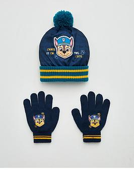 Paw Patrol   Toddler Boys Hat And Gloves Set - Multi