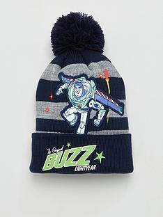 toy-story-toddler-boys-buzz-bobble-hat-greynavy