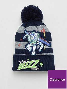 toy-story-toddler-boys-buzz-bobble-hat-greynavy