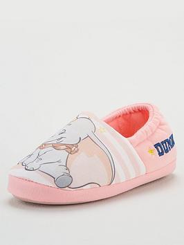 Disney Dumbo Disney Dumbo Girls Slippers - Pink/Grey Picture