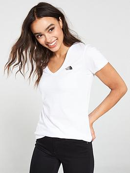 the-north-face-ss-simple-dome-tee-whitenbsp