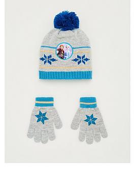Disney Frozen Disney Frozen Toddler Girls Frozen 2 Hat &Amp; Glove Set -  ... Picture