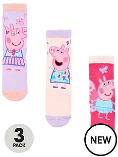 peppa-pig-3-pack-girls-socks-multi