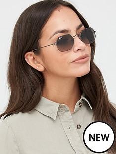ray-ban-octagonal-sunglasses-gunmetal