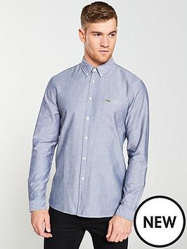 lacoste-sportswear-long-sleeved-oxford-shirt-navy
