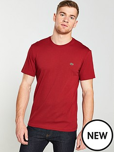 lacoste-sportswear-small-logo-t-shirt-red