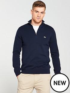 lacoste-sportswear-quarter-zip-knitted-jumper-navy