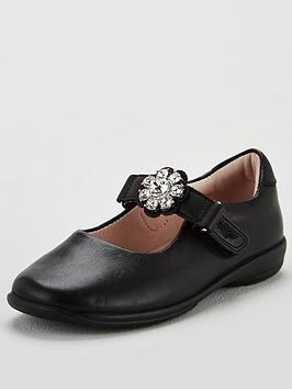 Lelli Kelly Lelli Kelly Girls Buttercup Dolly School Shoes - Black Leather Picture
