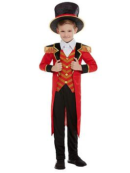 Very  Boys Deluxe Ringmaster Costume