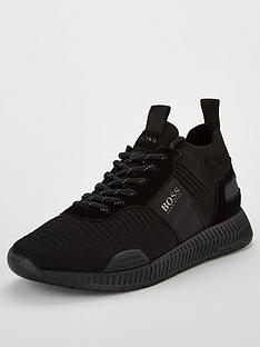 boss-titanium-runn-trainer-black
