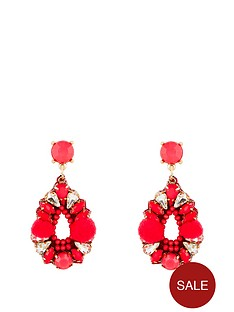 kate-wright-pom-pom-jewelled-earrings-pink