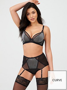 curvy-kate-sparks-fly-high-waist-suspender-brief-black