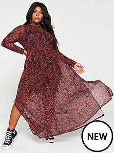 v-by-very-curve-mesh-maxi-dress-animal-print