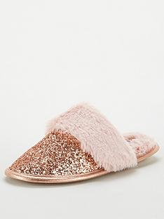 v-by-very-glitter-mule-slippers-pink