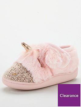 v-by-very-girls-unicorn-velcro-slippers